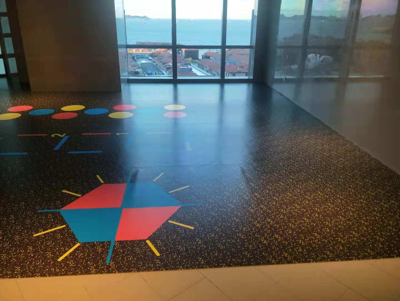 PVC塑膠地板卷材-003