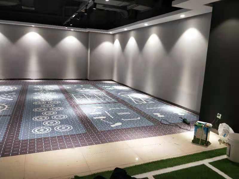 PVC塑膠地板卷材-004