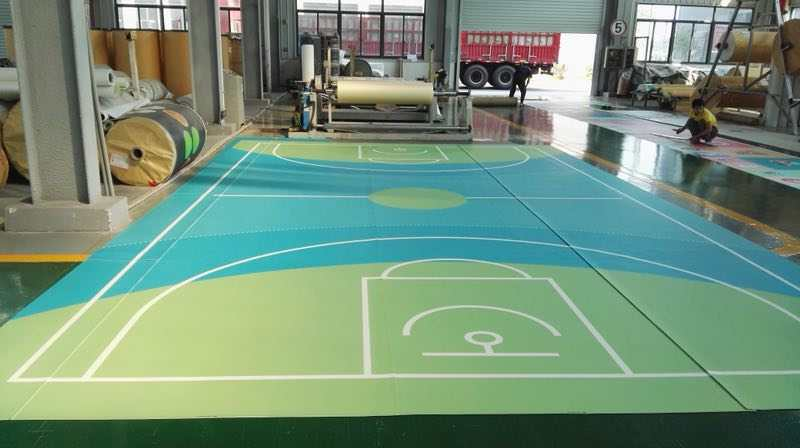 PVC塑膠地板卷材-006