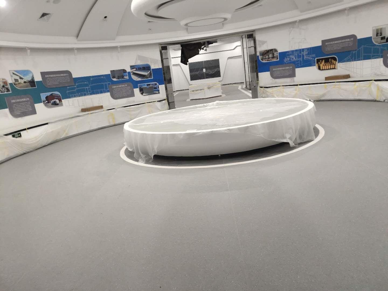 PVC塑膠地板卷材-009